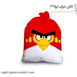 بالش فانتزی کودک با طرح قرمز پرنده مهربان