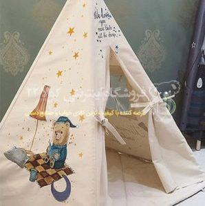 خرید چادر بازی کودک مدل سرخپوستی