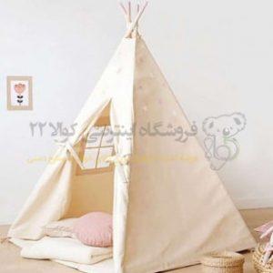 چادر سرخ پوستی ساده
