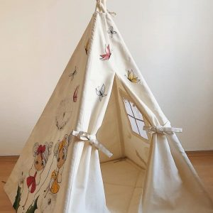 چادر بازی کودک سرخپوستی دخترانه