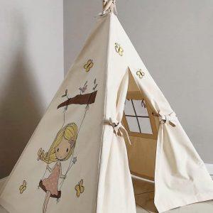 چادر بازی سرخپوستی دخترانه